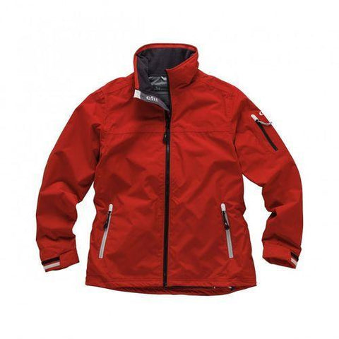 1041W Gill Crew Jacket Womens RED - Size 16