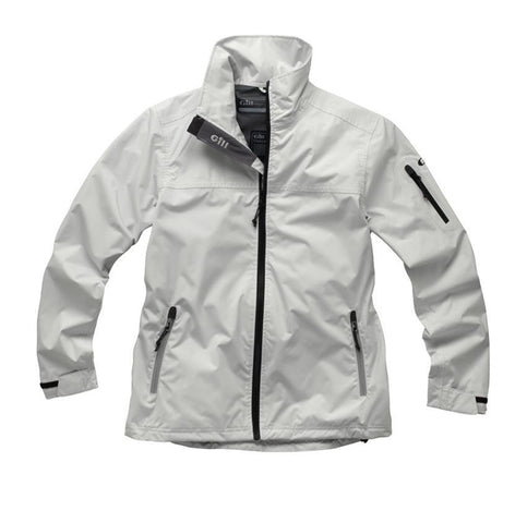 1042W Gill Crew Lite Jacket Womens - Silver - Last one size 16 only