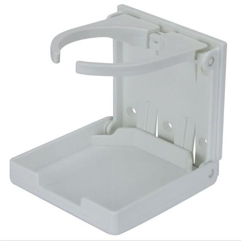 Folding Drink Holder - White