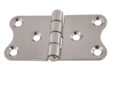 R W BASHAM HINGES  STAINLESS STEEL 74 x 40mm
