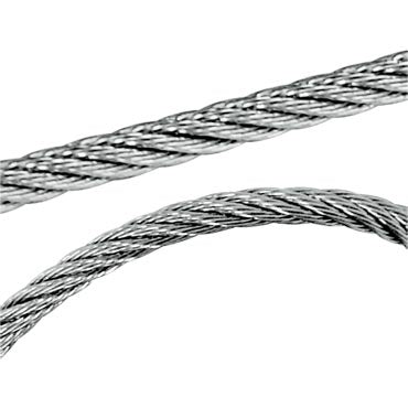 3.0mm, 7x7, Wire Rope 316 Stainless Steel 305m PVC