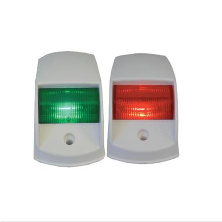 PORT & STARBOARD LIGHTS RECTANGLE - LED (PAIR) - WHITE