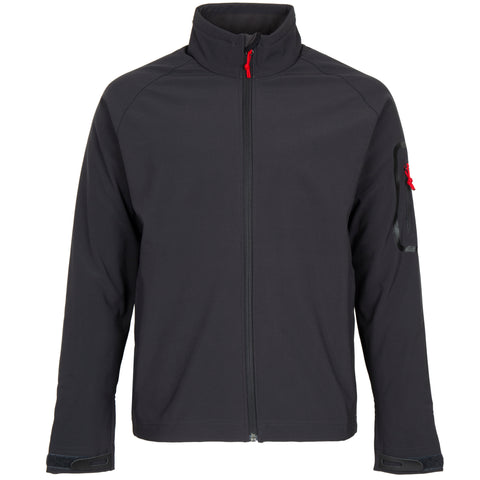 Mens Team Softshell Jacket Graphite Medium ONLY