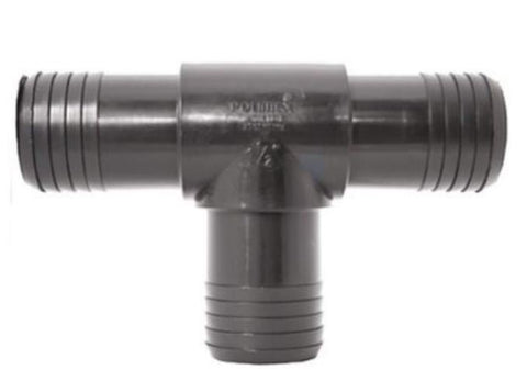 Tee Barb Join -All Hose 25mm