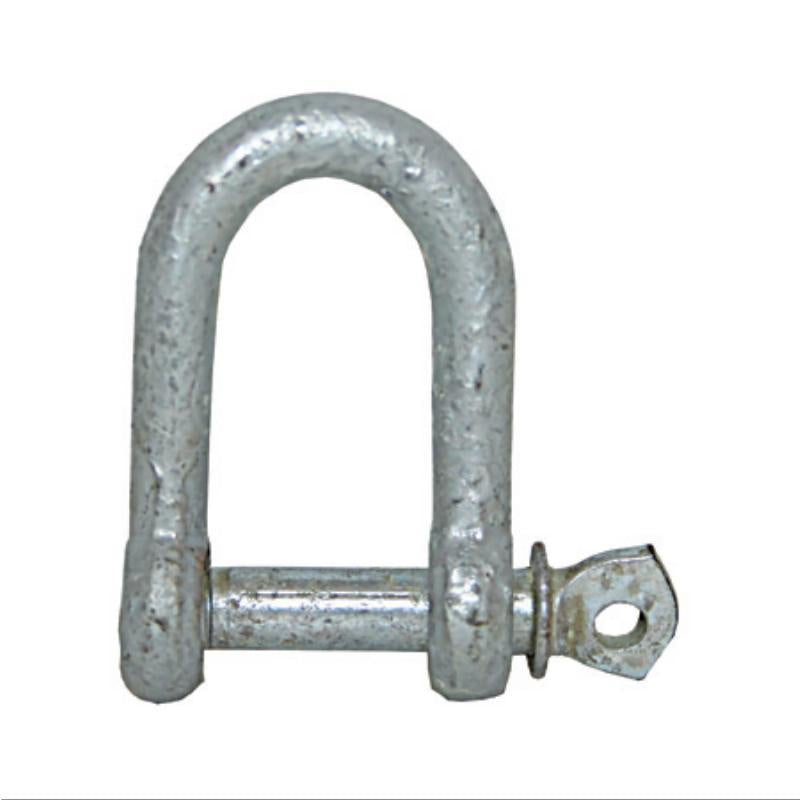 Shackle Galvanised Dee - 6mm