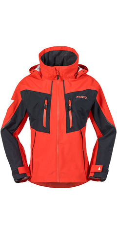 Musto Women's BR2 Race Jacket - FIRE ORANGE