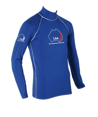 Sea LP006 Thermo Skin Long Sleeve - ROYAL BLUE - DISCONTINUED STYLE