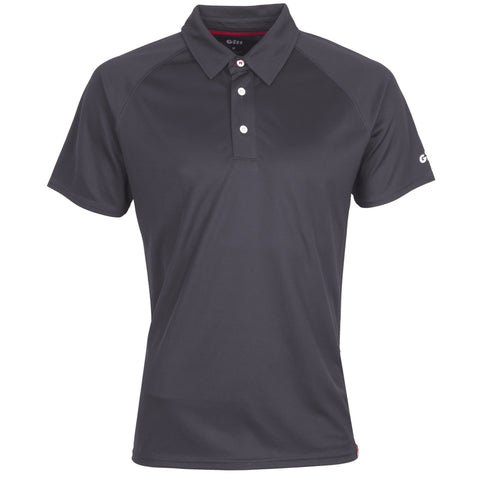 Gill - Mens UV Tec Polo Charcoal