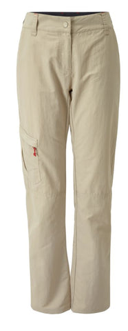 GILL WOMEN'S UV TEC TROUSERS - KHAKI - size 10 only