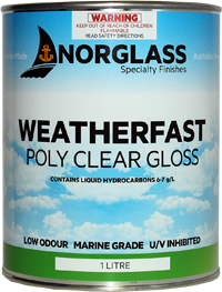 6011 POLY CLEAR GLOSS 1litre - AVAILABLE IN STORE ONLY