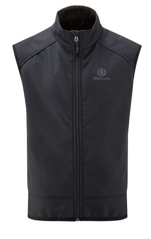 HENRI LLOYD CYCLONE VEST - BLACK - HALF PRICE