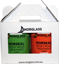 1253 NORSEAL EPOXY WOOD TREATMENT 500ml - AVAILABLE IN STORE ONLY
