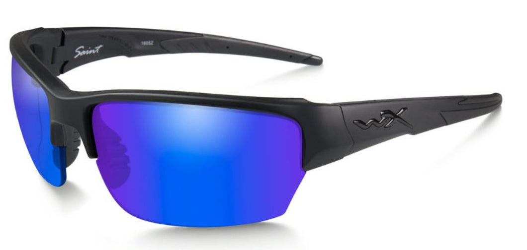 WileyX Polarised Blue Mirror (Green)/Matte Black