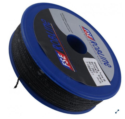 ROBLINE Whipping Twine 0.8mm x 80m BLACK