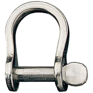 Shackle, Bow, Slotted Pin 4mm, L:14mm, W:13mm.