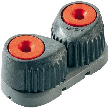 RONSTAN T-Cleat™ Fibre Reinforced Cam Cleat, Red, Grey Base