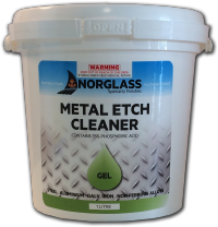4092 METAL-ETCH GEL CLEANER 1litre - AVAILABLE IN STORE ONLY
