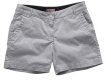 Load image into Gallery viewer, GILL WOMENS CREW SHORT - LAST ONE SIZE 12 SILVER ONLY