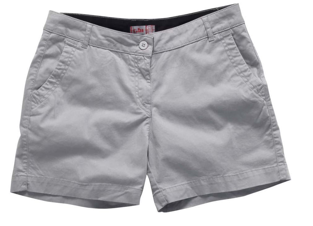 GILL WOMENS CREW SHORT - LAST ONE SIZE 12 SILVER ONLY