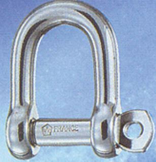 WICHARD STRAIGHT SHACKLE D 6 CAPTIVE