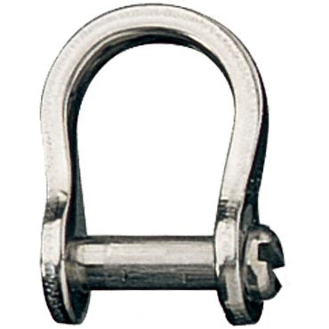 Shackle, Bow, Slotted Pin 3mm, L:13mm, W:9mm