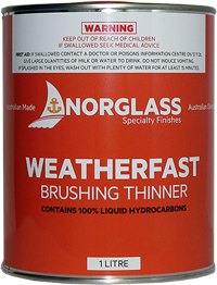 3022 NORTHANE SPRAYING THINNERS 1litre -  AVAILABLE IN STORE ONLY