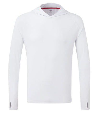 GILL UV TEC HOODY WHITE MEDIUM