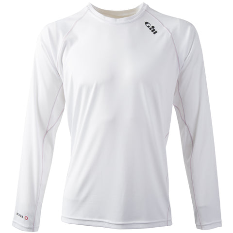 GILL Race Long Sleeve Tee White