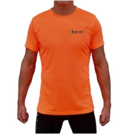 VOCEAN S/S UV TOP- FLURO ORANGE
