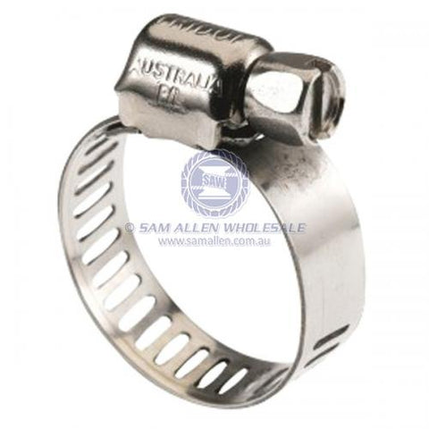 Hose Clamps: 6mm - 16mm (10mm Width)