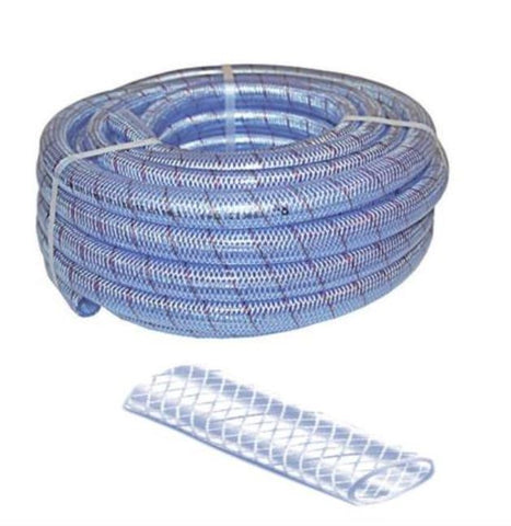 Re-inforced hose for water - sold per metre