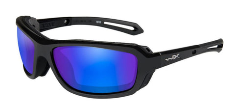 WILEY X WAVE | POLARISED BLUE W/ GLOSS BLACK FRAME