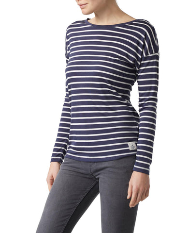 Henri Lloyd Breanna Striped Tee Nav