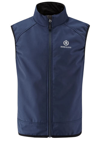HENRI LLOYD CYCLONE SOFT SHELL VEST - NAVY - HALF PRICE