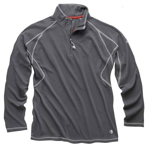 Gill UV Tec 1/4 Zip L/S Polo