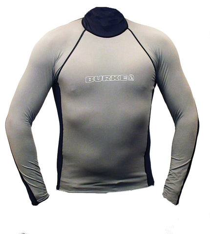 BURKE RASH GUARD GUNMETAL