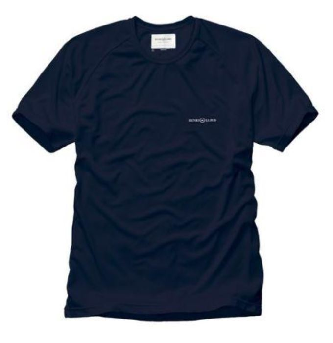 HENRI LLOYD ATMOSPHERE TEE NAVY - LAST ONES SIZE SMALL ONLY