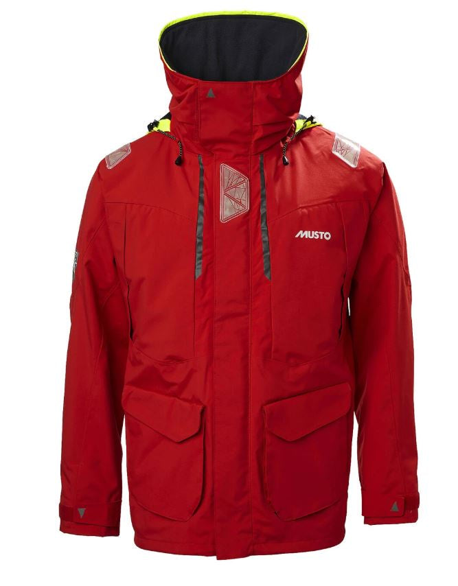 Musto BR2 Offshore Jacket Red