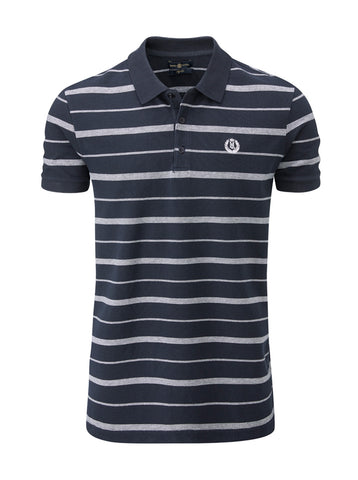 HENRI LLOYD SEASTRIPE POLO - NAVY - DISCONTINUED STYLE - LAST STOCK