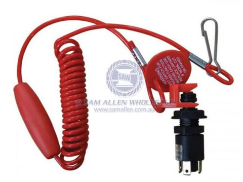 12v 10 A COIL CORD EMERGENCY SWITCH