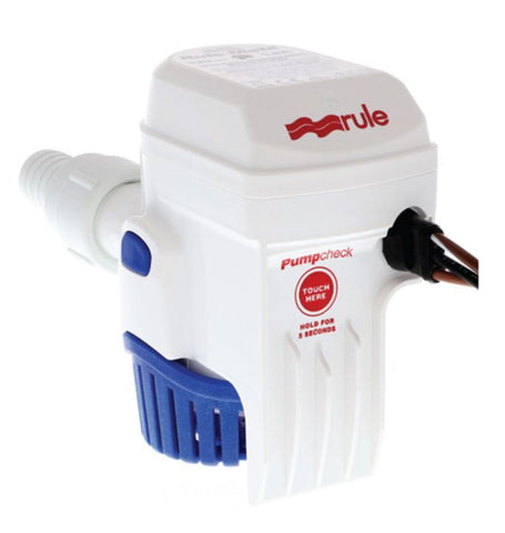 RULE-MATE 500GPH BILGE PUMP - AUTOMATIC