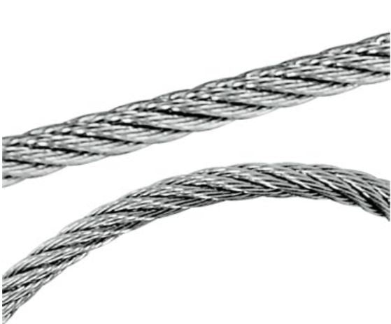 Ronstan 1.5mm, 1x19, Wire Rope 316 Stainless Steel Sold per metre