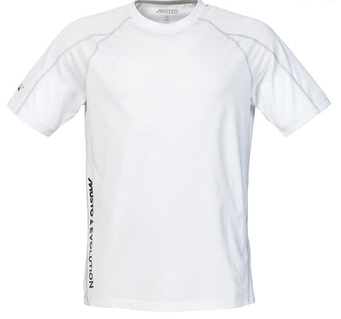 MUSTO EVOLUTION S/S TEE - WHITE