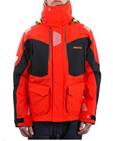 Musto BR2 Offshore Jacket Orange