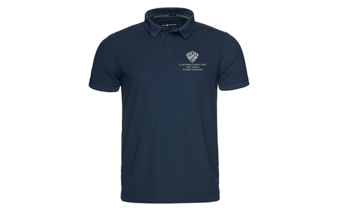 LIMITED EDITION - BE QUICK - 18 FOOTERS SAIL RACING 2020 JJ GILTINAN BOW TECH POLO - NAVY