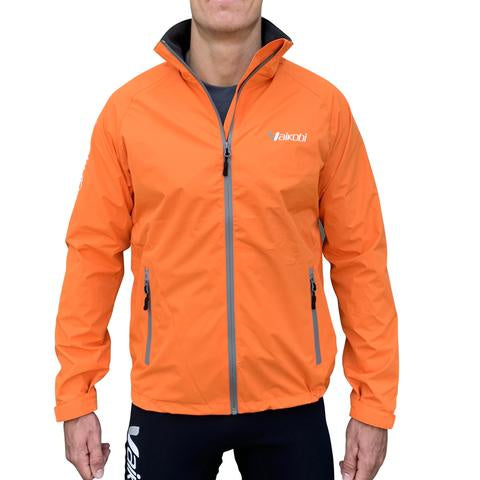 VAIKOBI VDRY LIGHTWEIGHT 1/2 ZIP JACKET-FL. ORANGE