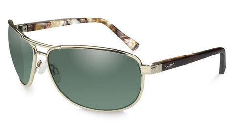 WILEY X KLEIN | POLARISED GREEN LENS W/ GOLD FRAME