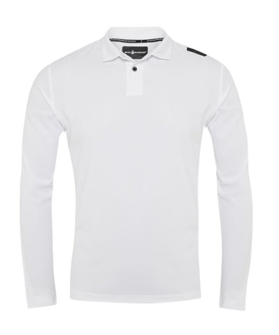 SAIL RACING Bow Tech Polo LS White