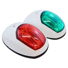 NAVIGATION LIGHTS - PORT & STARBOARD - APPROVED (PAIR)