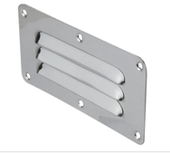 STAINLESS STEEL LOUVRE VENT W 127MM X H 115MM MADE IN CHINA